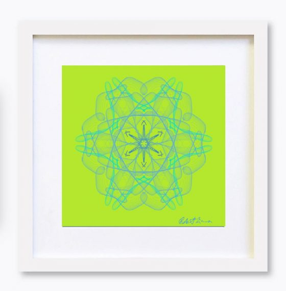 Mandala Colour Therapy Wall Art BrightNightLight WA2001